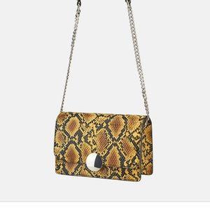Zara Snake Skin Bag